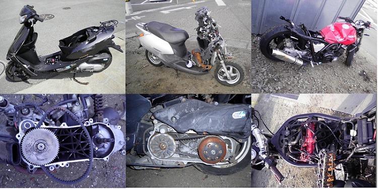 買取・回収できないバイク