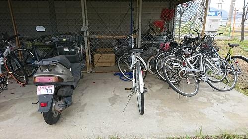 放置バイクの無料回収・撤去