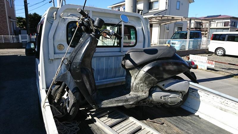 中原区|動かない原付バイク売るならバイクコム-費用0円