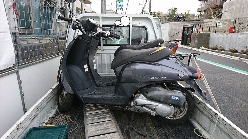 川崎市|原付バイク売るならバイクコム-費用0円の廃車買取