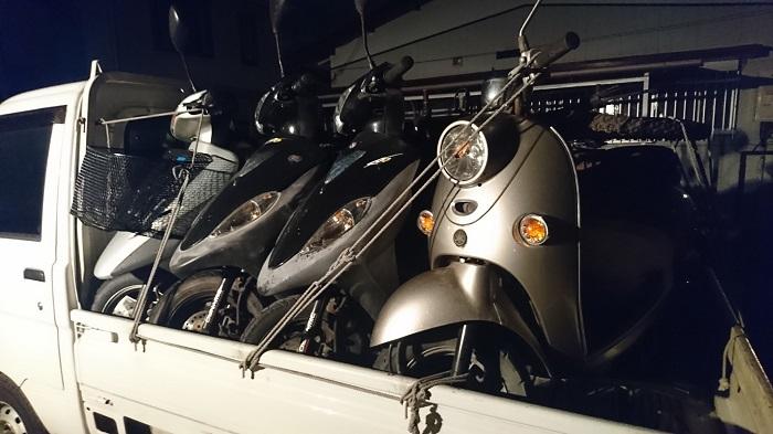 高津区・原付バイクの無料処分!動かないスクーターも売れる!