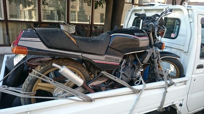 川崎区|バイク、原付の無料処分、費用0円の買取り処分!