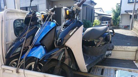 川崎市幸区で原付スクーター(不動車)の買取り、無料廃車手続き