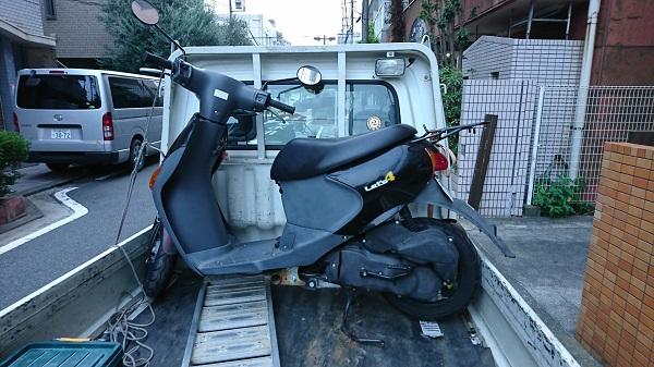 川崎市川崎区・原付・スクーターの買取り、無料廃車手続き