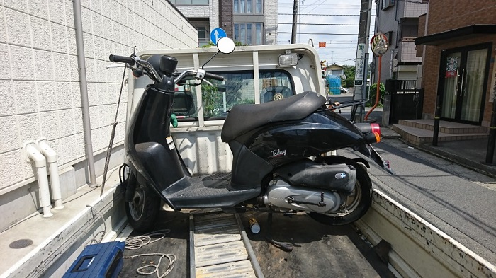 川崎市多摩区で原付スクーターの買取情報