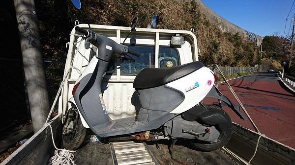 宮前区バイクの出張査定・長期放置レッツ4