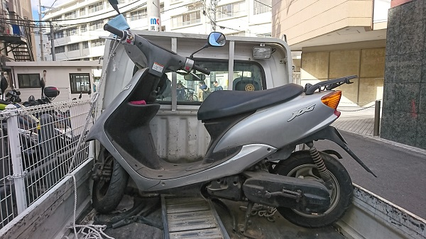 高津区バイク買取、JOG
