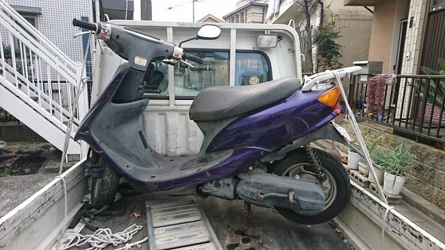 中原区バイク買取、JOG