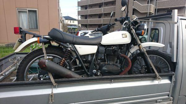 多摩区でバイク廃車買取。書類紛失バイクの廃車手続きも無料です。