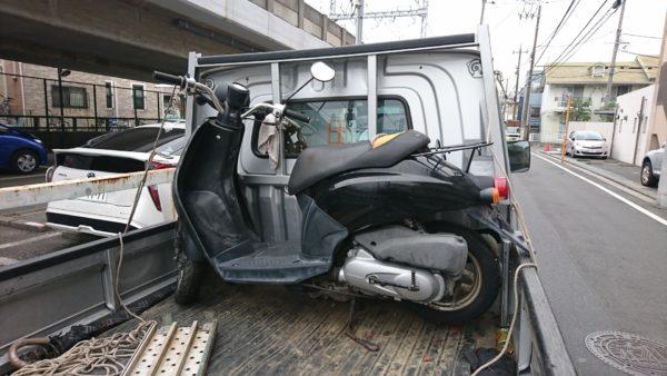川崎市幸区でトゥデイ長期放置2年の廃車買取り