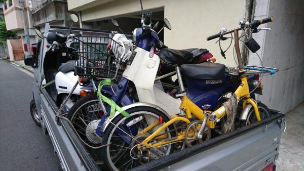 川崎市中原区で原付スクーターの廃車買取り、プレスカブ
